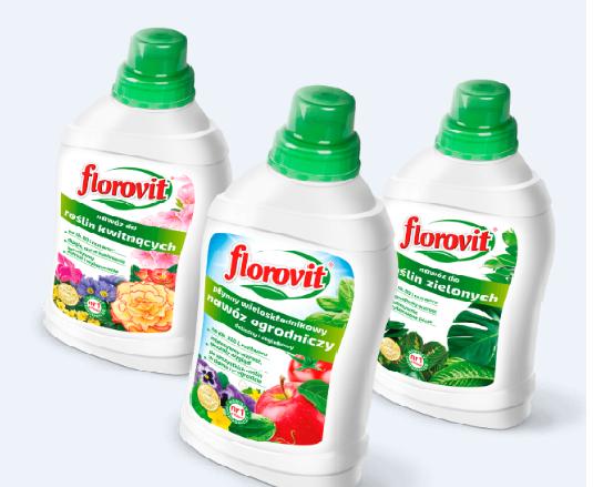 Florovit - Îngrăşăminte lichide