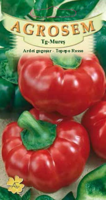 Ardei gogosar - Topepo Rosso