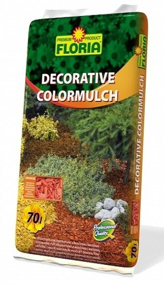 decor color mulch portocalie 70 L