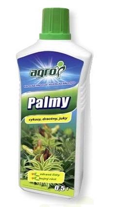 Ingrășământ palmieri şi plante verzi 0,5 L