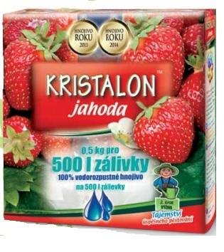 kristalon căpșuni