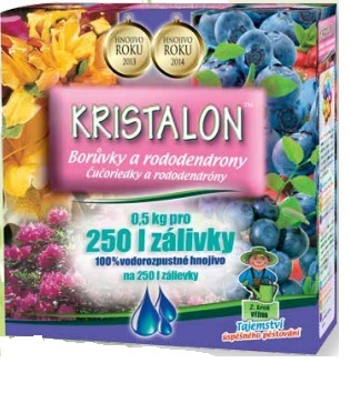 kristalon afine și afine roșii
