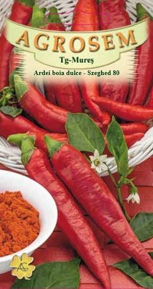 Ardei boia dulce - Szegedi 80