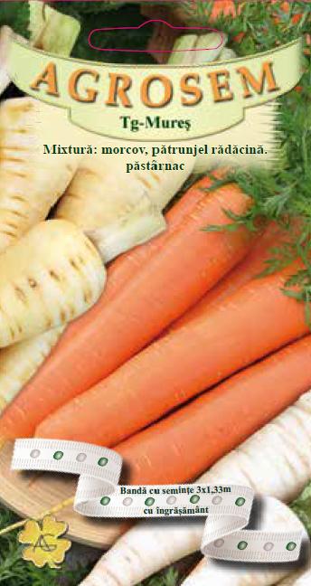 Mixtură:Morocv,pătrunjel rădăcină,păstârnac