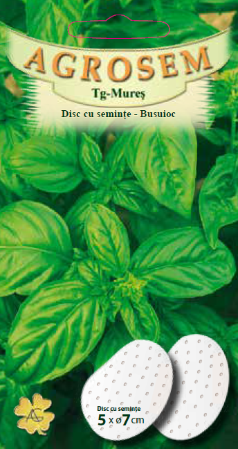 Disc cu seminţe-Busuioc