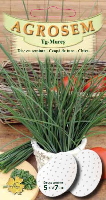 Disc cu seminţe-Ceapă de tuns