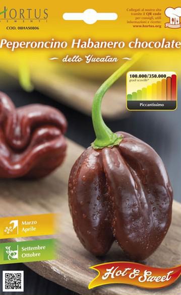 Ardei iute - Habanero Chocolate