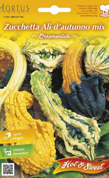 Dovlecel ornamental - Zucchitta ali d autunno mix