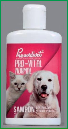 Şampon HERBA-VITAL pentru câini şi pisici