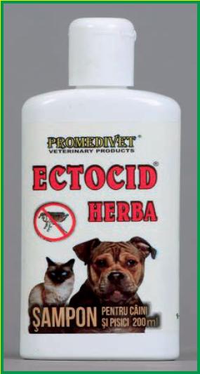 ECTOCID-HERBA şampon anti-parazitar
