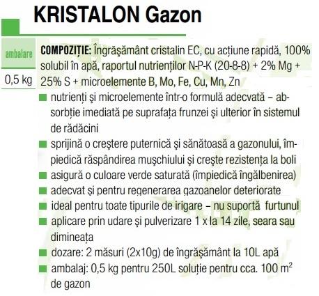 Kristalon gazon