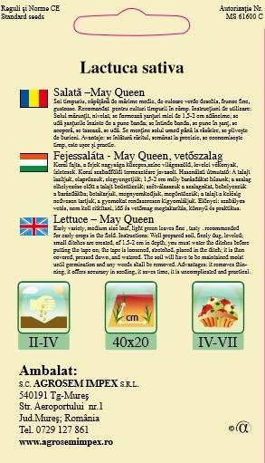 Salată-May Queen